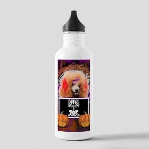 LilSpookyPoodleRed Stainless Water Bottle 1.0L