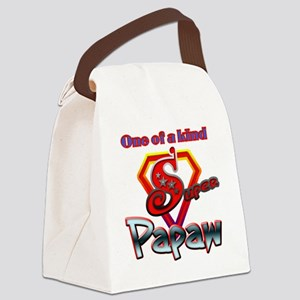 SUPERPAPAW Canvas Lunch Bag