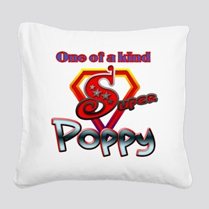SUPERPOPPY Square Canvas Pillow