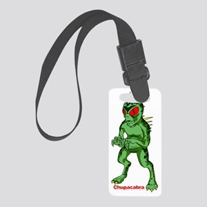 Chupacabra_Alien Small Luggage Tag