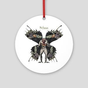 Mothman3 Round Ornament