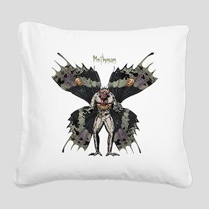 Mothman3 Square Canvas Pillow