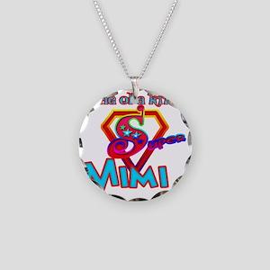 Super Mimi Necklace Circle Charm