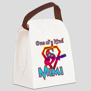 Super Mimi Canvas Lunch Bag