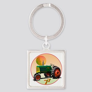 Oliver77RC-Tri-C10trans Square Keychain