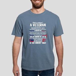 What Is A Veteran T Shirt T-Shirt