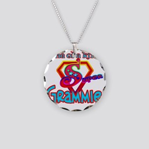 SUPER GRAMMIE Necklace Circle Charm