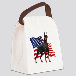 flag2 Canvas Lunch Bag