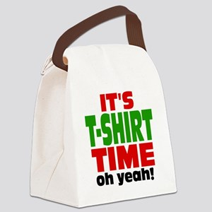 Tee Shirt Time -color Canvas Lunch Bag