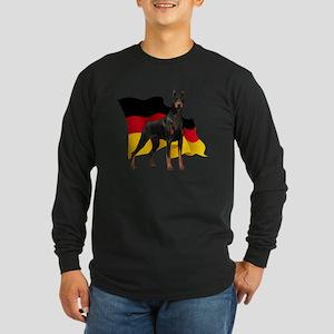 flag3 Long Sleeve Dark T-Shirt