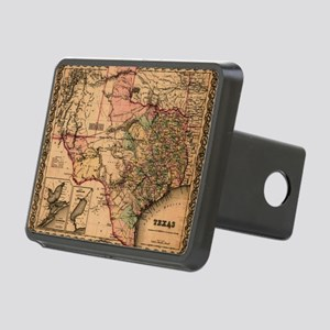 1855 Map of TX Rectangular Hitch Cover