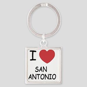 SAN_ANTONIO Square Keychain
