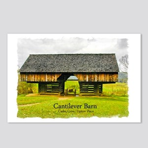 CadesCoveBarn_7X5_frame Postcards (Package of 8)