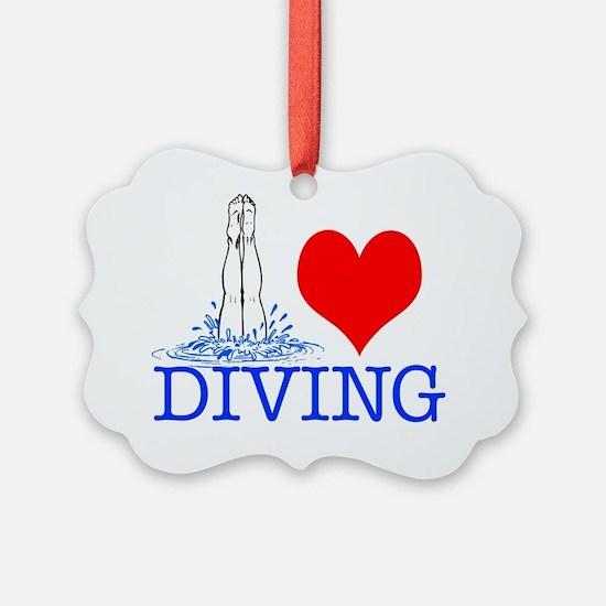 DIVING Ornament