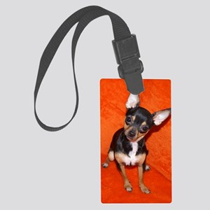 ChihuahuaJournal Large Luggage Tag