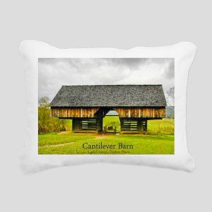 CadesCoveBarn_mousepad Rectangular Canvas Pillow