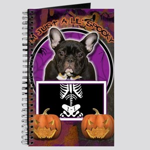LilSpookyFrenchBulldogTeal Journal