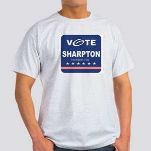 Vote Sharpton Ash Grey T-Shirt
