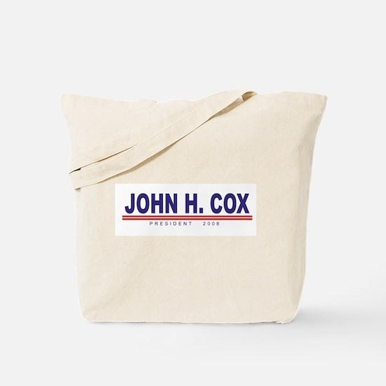 John H Cox (simple) Tote Bag