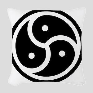 triskelion Woven Throw Pillow