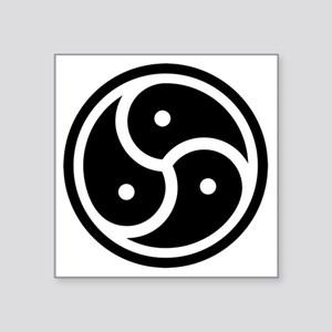 "triskelion Square Sticker 3"" x 3"""