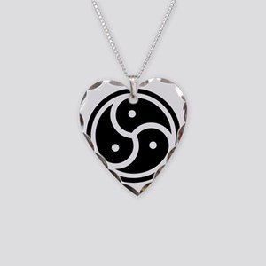 triskelion Necklace Heart Charm