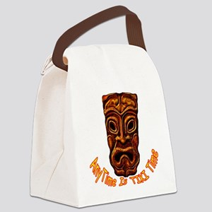 TikiTime Canvas Lunch Bag