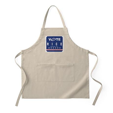 Vote Rice BBQ Apron
