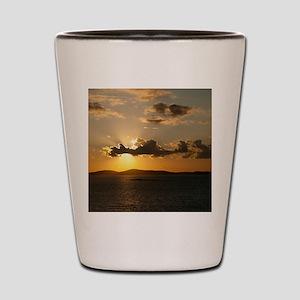 Mykonos Sunset Shot Glass