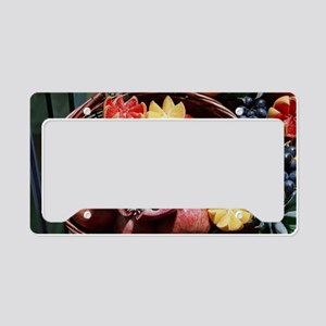 Turkish Fruits License Plate Holder