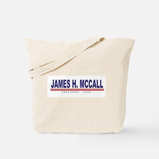 James H Mccall (simple) Tote Bag