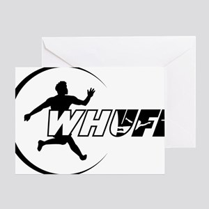 WHUFL-outline7 Greeting Card