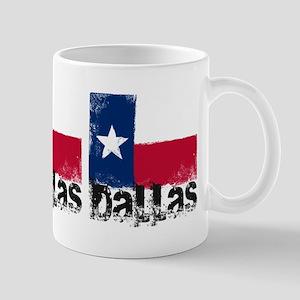 Dallas Grunge Flag Mug