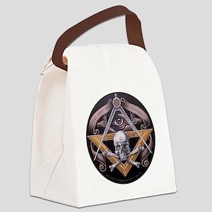 Virtus Junxit Mors Non Seperabit  Canvas Lunch Bag