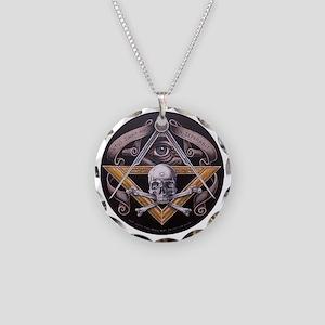 Virtus Junxit Mors Non Seper Necklace Circle Charm