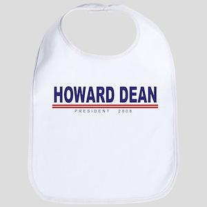 Howard Dean (simple) Bib