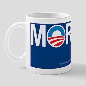 5x3oval_moron Mug