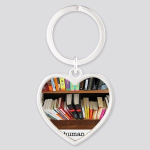 bookstore Heart Keychain