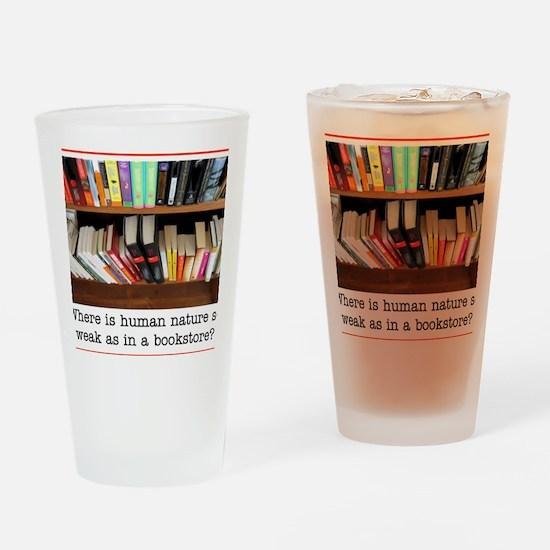 bookstore Drinking Glass