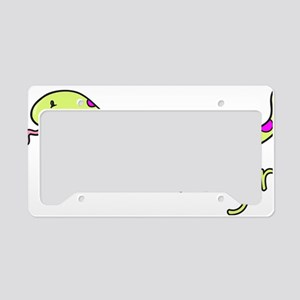 CA_157_v02_snakegirl License Plate Holder