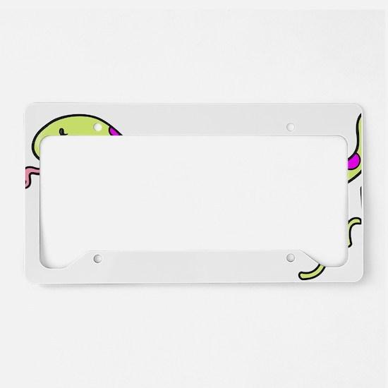 CA_157_v02_snakegirl License Plate Holder