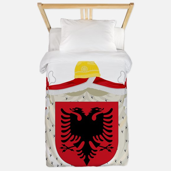 Coat of arms of the Albanian Kingdom (1 Twin Duvet