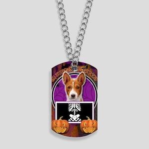 LilSpookyBasenji Dog Tags