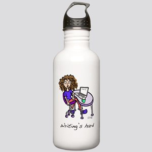 writing-hard Stainless Water Bottle 1.0L