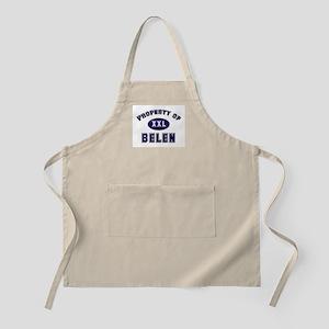 Property of belen BBQ Apron