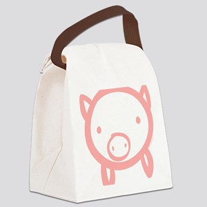 pig Canvas Lunch Bag