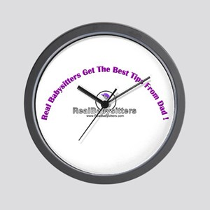 Babysitters Dad Wall Clock