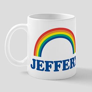 JEFFERY (rainbow) Mug