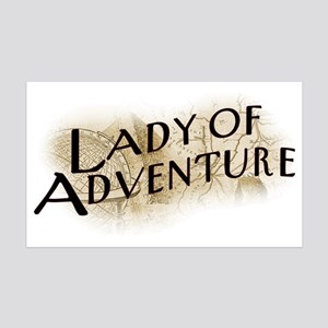 lady-of-adventure_light-t 35x21 Wall Decal