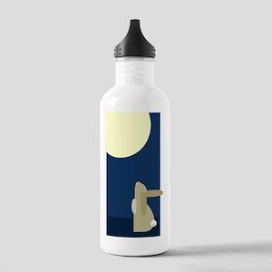 rabbit moon Stainless Water Bottle 1.0L